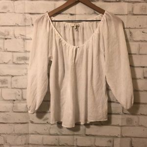 Joie Tops - Joie khan peasant blouse